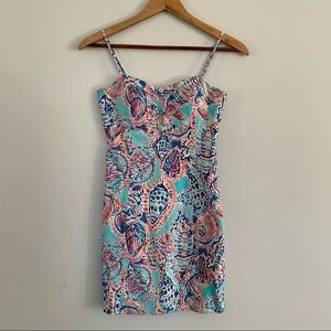 Lilly Pulitzer Petra dress shell me about it sz 0
